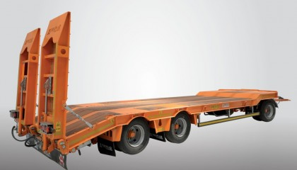 Низкорамный прицеп для транспортировки машин PRONAR PB3100