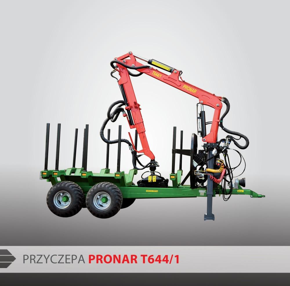 Remolque Forestal PRONAR T644/1 | Sierra Maquinaria Agricola