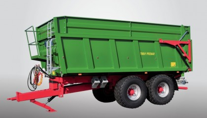 Trailer PRONAR T669/1 two-side tipping