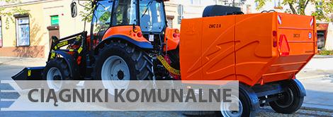 Ciągniki komunalne Pronar