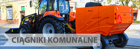 Technika komunalna Pronar - ciągniki komunalne