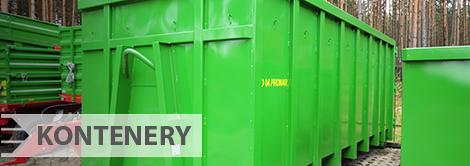 Technika komunalna Pronar - kontenery