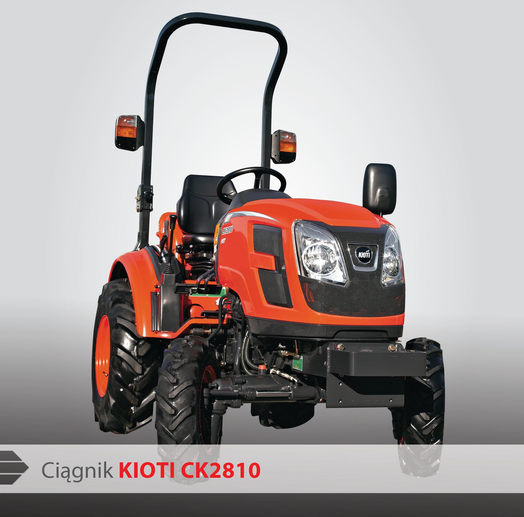 Ciągnik Kioti CK2810 - Pronar Sp  z o o