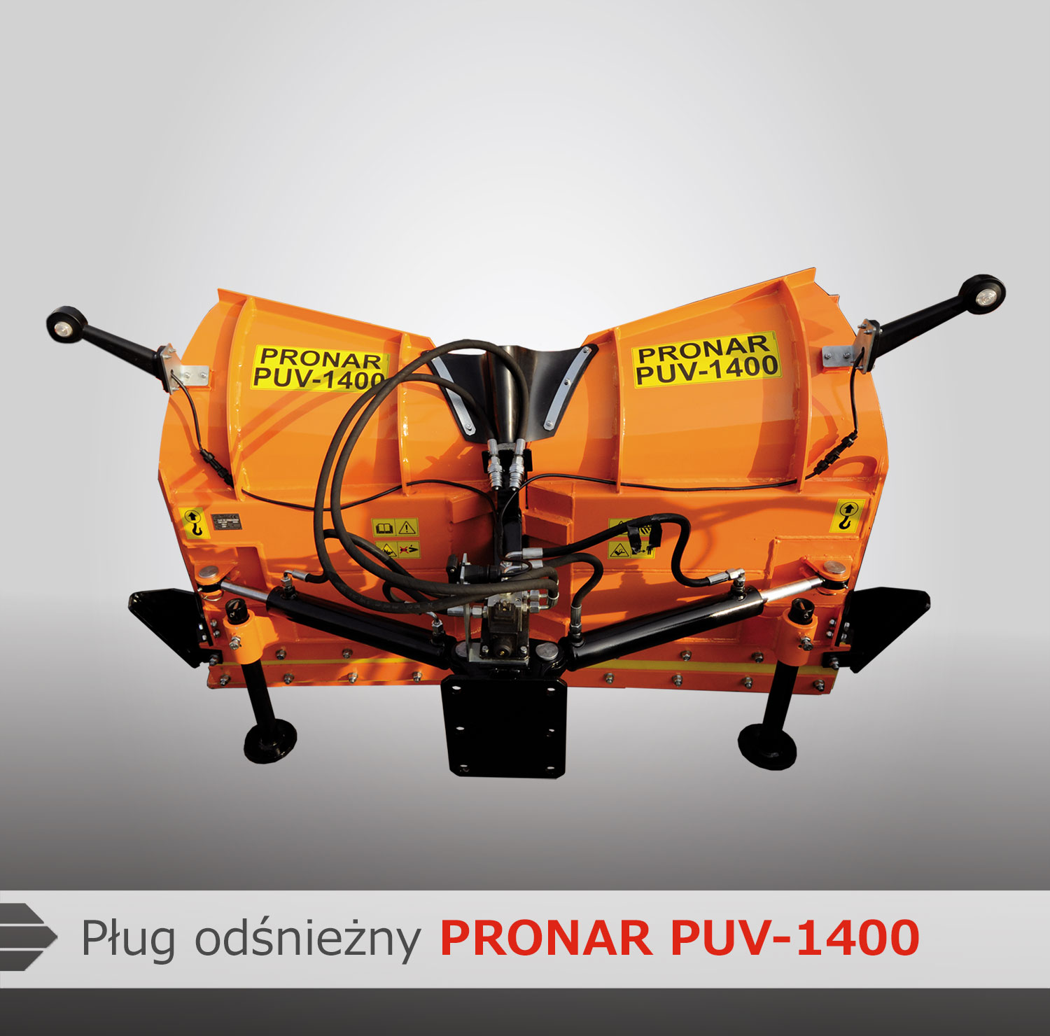 Snow plows PRONAR PUV-1400 & PRONAR PUV-1600 - Pronar Sp  z o o