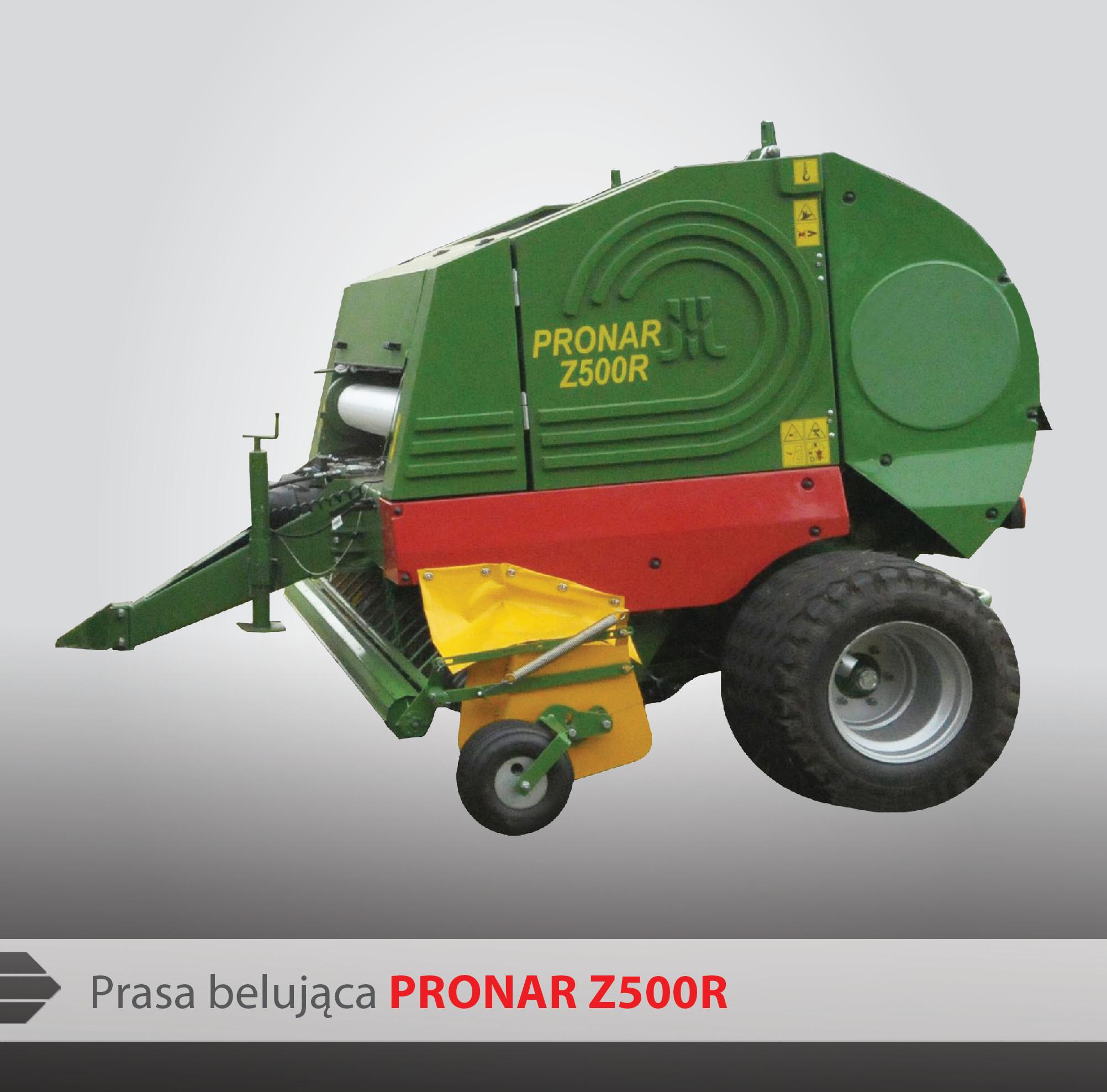 Prasa belująca Pronar Z500R - Pronar Sp. z o.o.