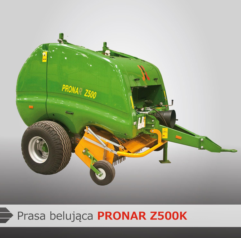 Prasa belująca Pronar Z500K - Pronar Sp. z o.o.