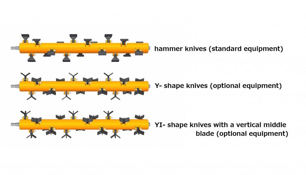 Modernisation of flail mowers - Pronar Sp  z o o