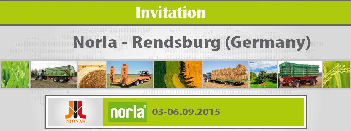 Invitation: Norla, Rendsburg (Germany) – 03-06.09.2015