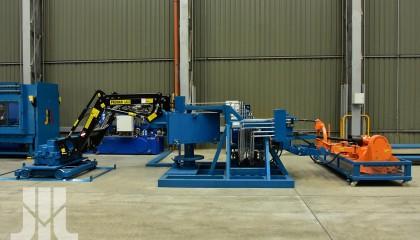 Badania ładowaczy i maszyn napędzanych hydraulicznie