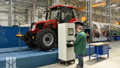 Badania udźwigu TUZ i mocy hydrauliki zewnętrznej