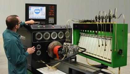 Badania układów paliwowych