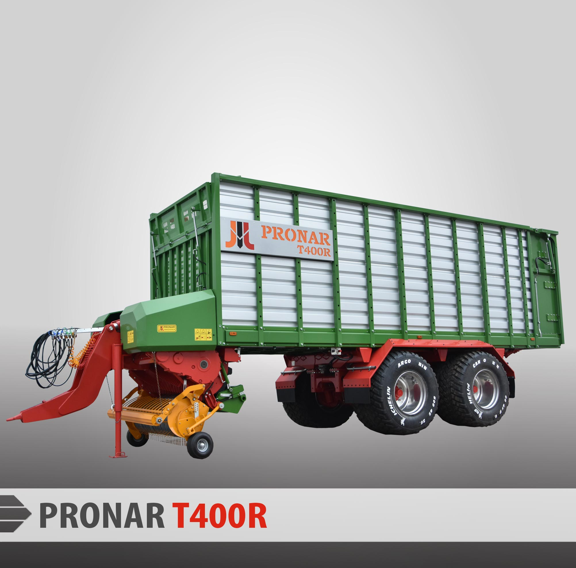 T400R szare t%C5%82o2 Прицеп Pronar T400R