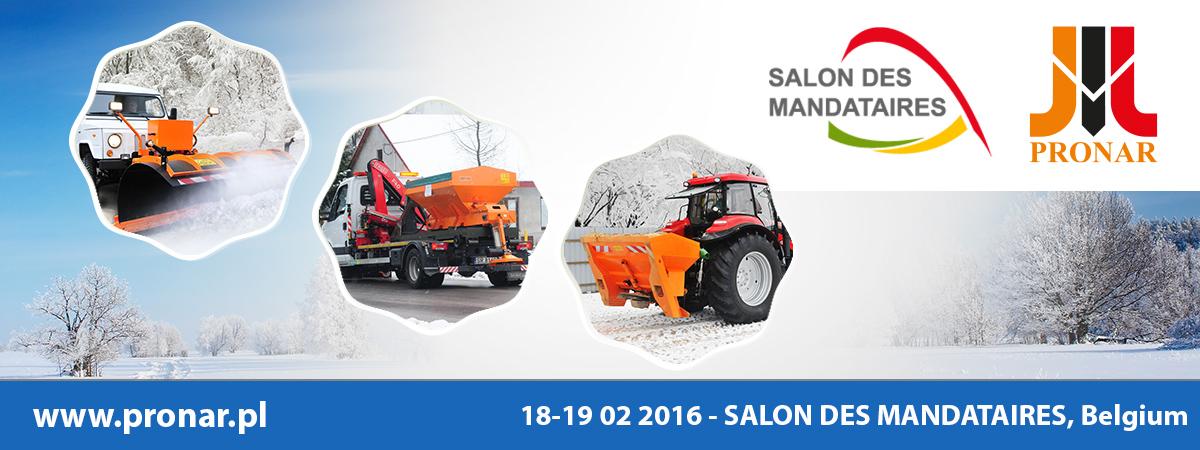 Invitation: SALON DES MANDATAIRES, 18-19.02.2016 Marche-en-Famenne (Belgium)