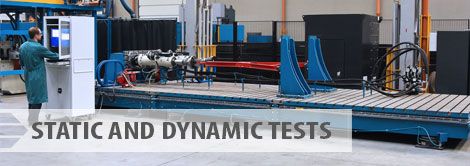 Static and dynamic tests