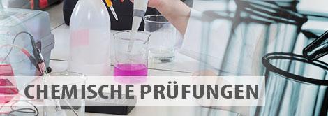 Angebot der Prüfungen - Chemische Prüfungen