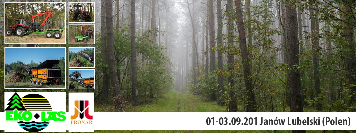 Einladung: EKO-LAS, 01-03.09.2016, Janów Lubelski (Polen)