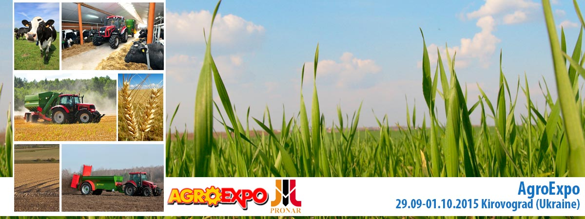 Einladung: AGRO-EXPO, 29.09 – 01.10.2016, Kirovograd (Ukraine)