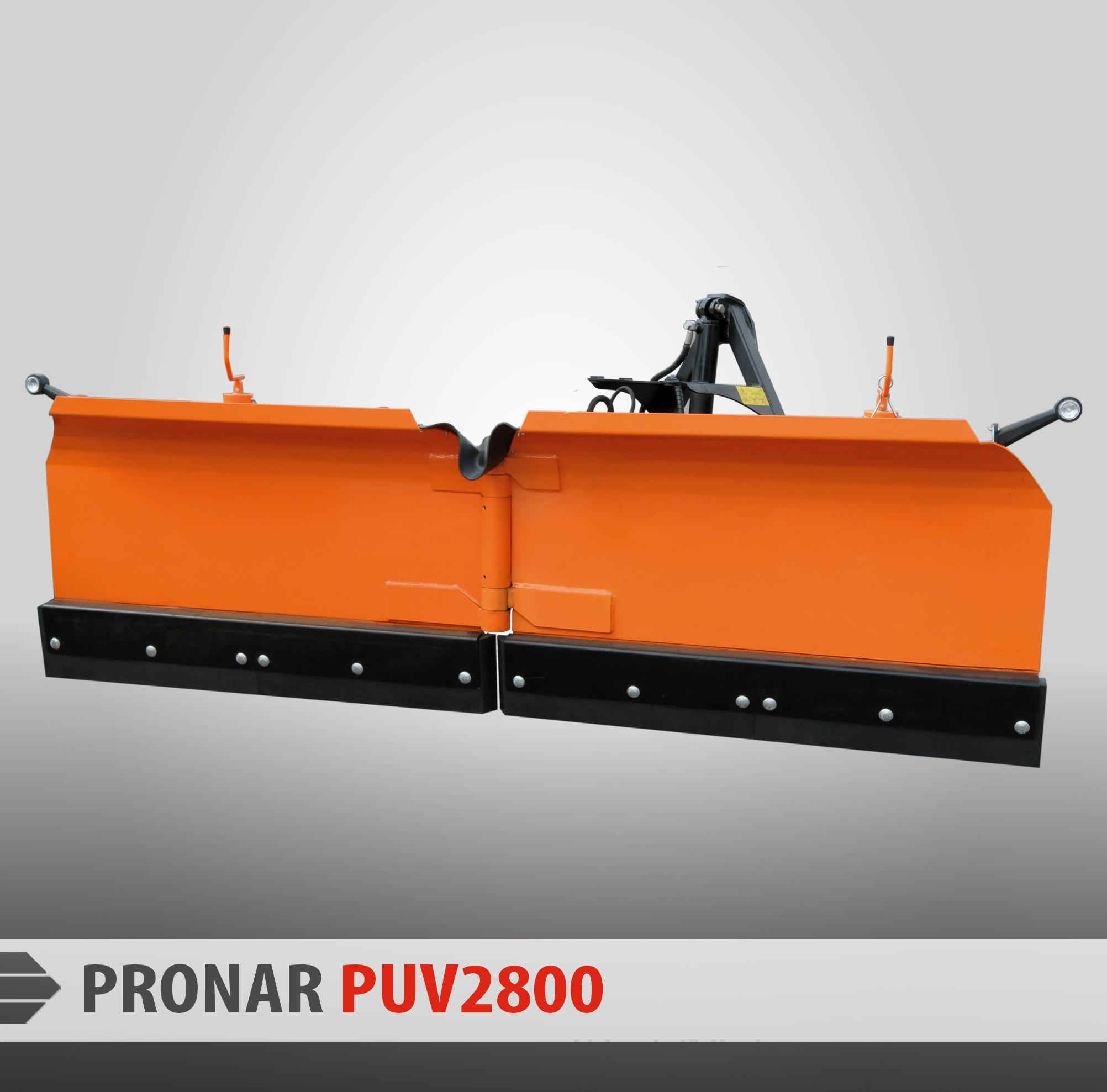 Snow plows PRONAR PUV-2600 & PUV-2800 - Pronar Sp  z o o