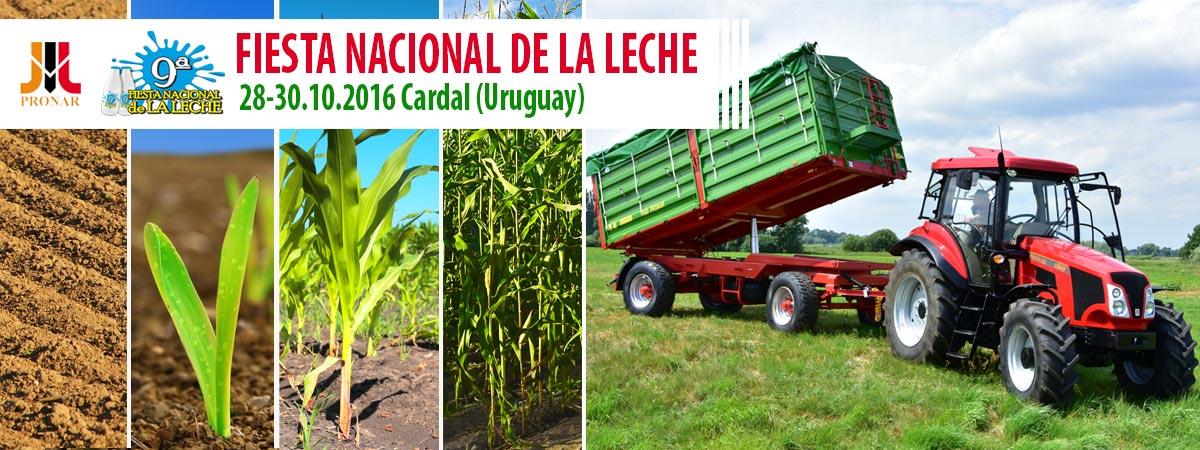Einladung: FIESTA NACIONAL DE LA LECHE, 28-30.10.2016, Cardal (Uruguay)