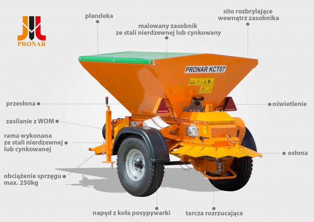 Posypywarka Pronar KCT07