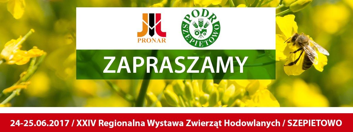 Zaproszenie: XXIV Regionalna Wystawa Zwierząt Hodowlanych, 24-25.06.2017, Szepietowo
