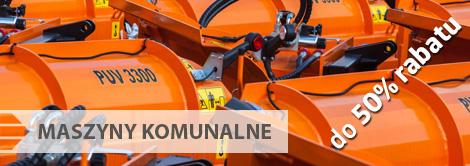 Oferta specjalna Pronar - maszyny komunalne