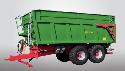 Trailer PRONAR T669/1 three-side tipping