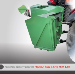 kontenery samowyładowacze KSW