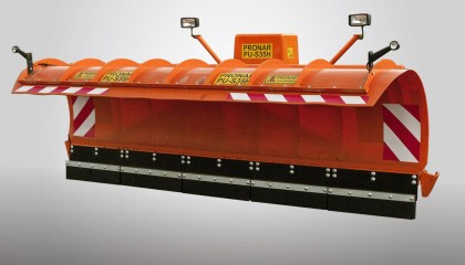 Snowplows for trucks PRONAR PU-S25H, PU-S32H, PU-S35H