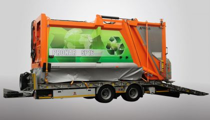 Garbage truck PRONAR SP16