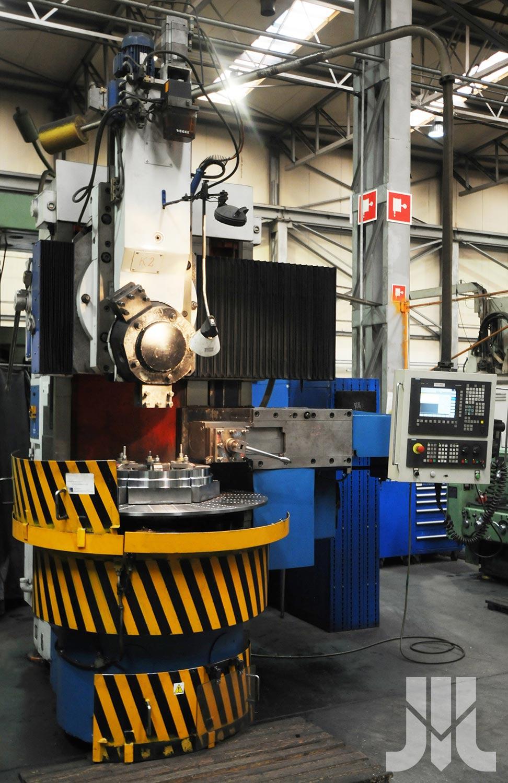 Tokarka karuzelowa 1512 CNC sterowanie SINUMERIC 840D