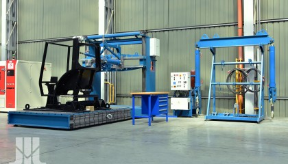 Static tests of protection structures, hitches and protection devices