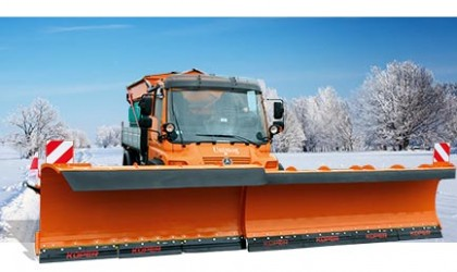Municipal machinery for the winter season