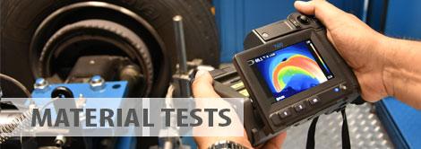 Material tests