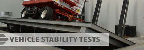 Vehicle stability tests