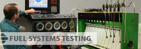 Fuel systems testing