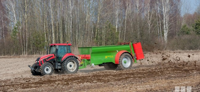 Manure spreader NV161/2