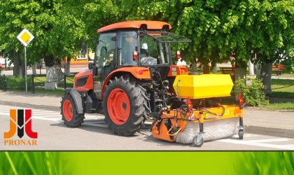 Municipal machinery for the spring and summer season