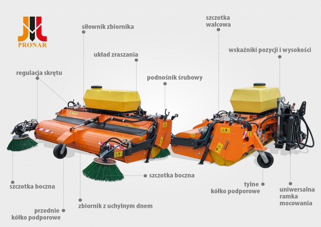 Zamiatarka ZM2300