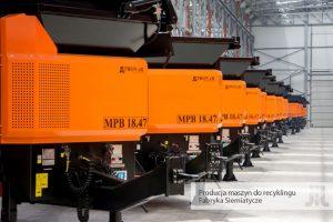 Maszyny do recyklingu Siemiatycze Pronar Narew