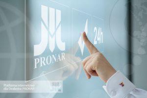 PRONAR Narew platforma internetowa