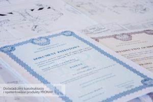 Patenty PRONAR Narew