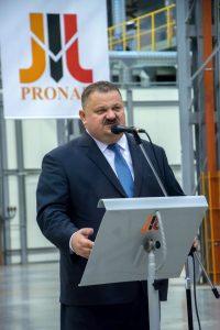 Jarosław Gowin PRONAR Siemiatycze