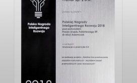 Польская Награда Интеллигентного Развития 2018