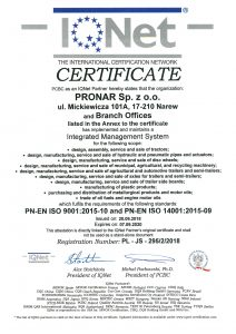 PRONAR ISO ISO IQNet