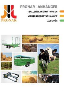 okładka broszura pronar belowe DE
