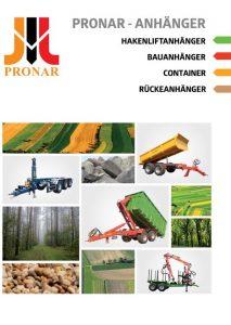 okładka broszura pronar hakowe DE