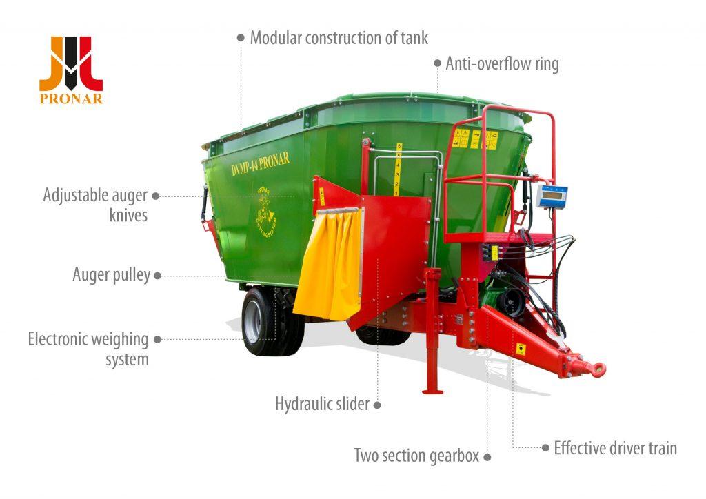 Mixer feeder PRONAR DVMP
