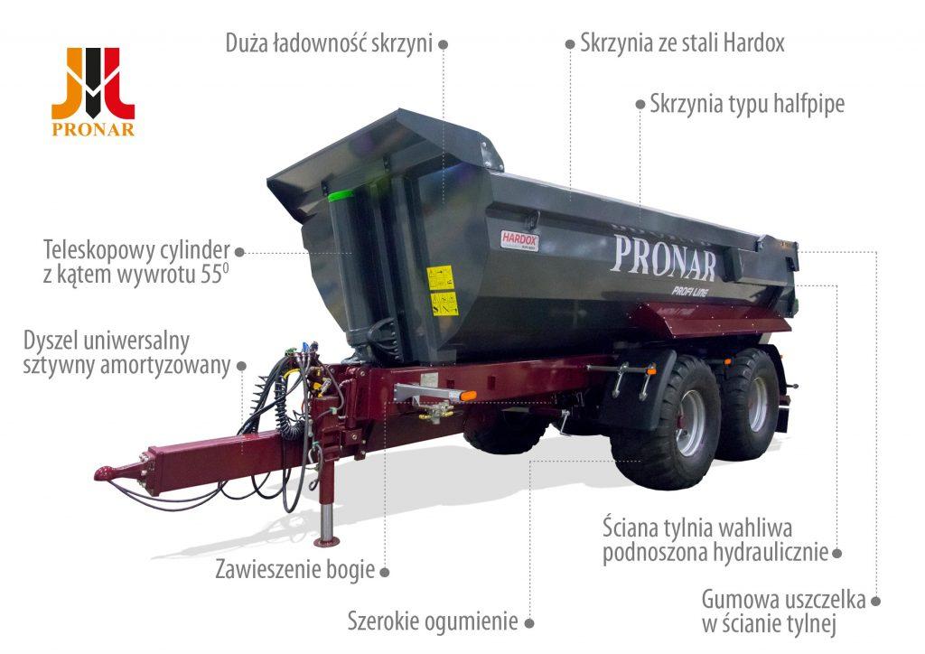 Przyczepa PRONAR T701HP