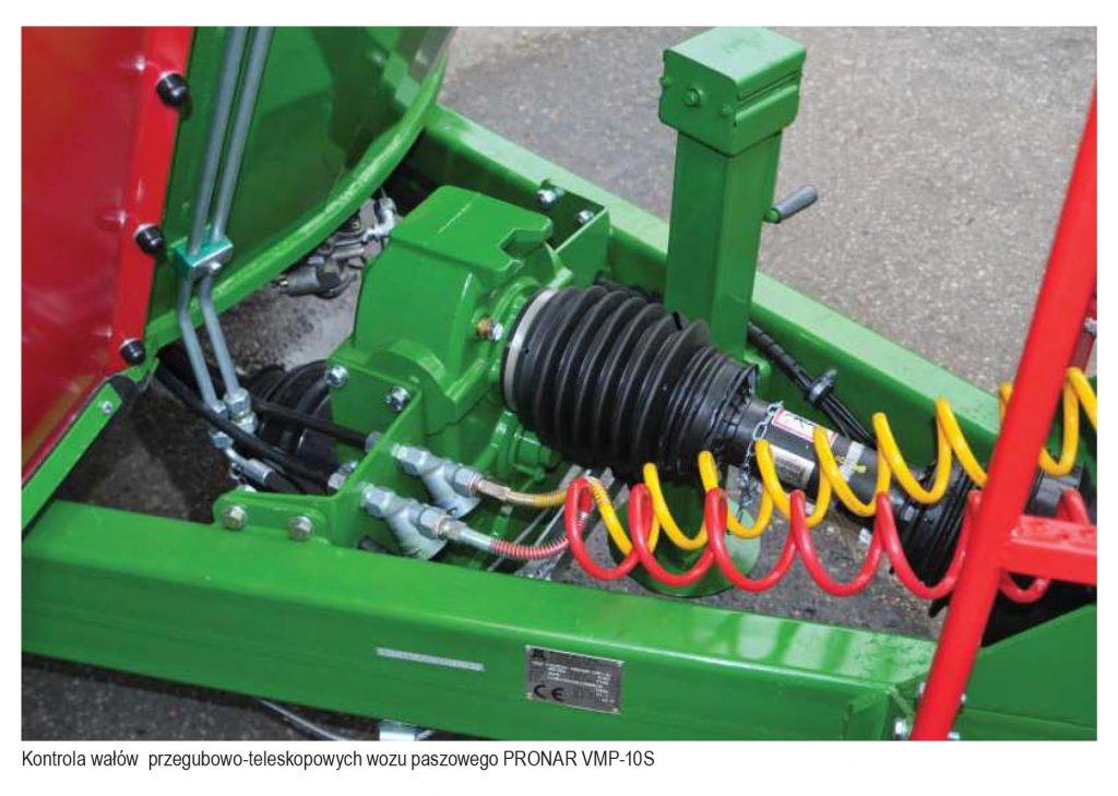 Przygotowanie maszyn do zbioru zielonek